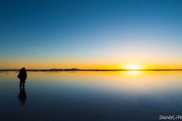 ウユニ塩湖の予算